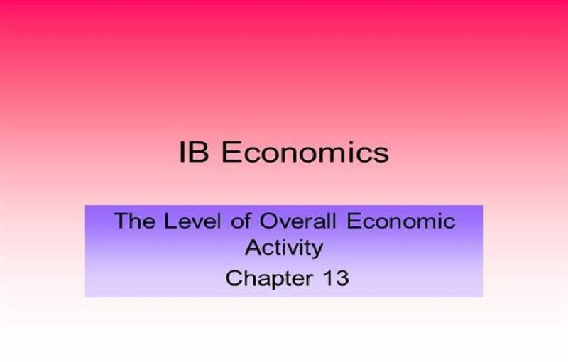 The Level of Overall Economic Activity